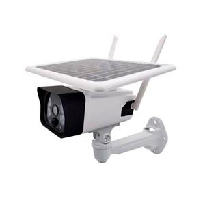 Câmera de Segurança IP Outdoor Color com Placa Solar