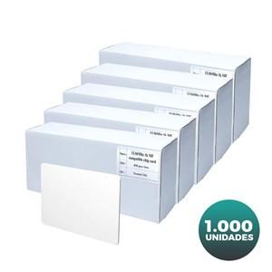 Cartão Branco de PVC para Impressão - Akiyama - 1.000 unidades