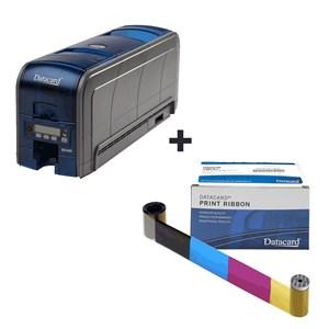 Kit Impressora Datacard Para Cartões - SD360 e Ribbon Colorido - 250 Impresões
