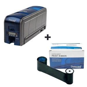 Kit Impressora Datacard Para Cartões - SD360 e Ribbon Preto 1500 Impressões