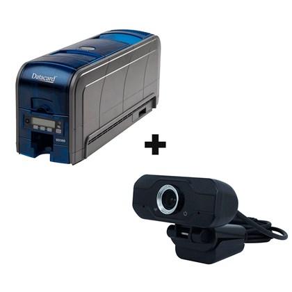 Kit Impressora Datacard SD360 com Webcam