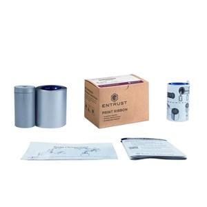 Ribbon Prateado - 1500 Impressões - 532000-006 - Entrust Datacard