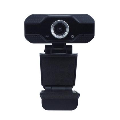 Webcam Full Hd Usb com microfone 1080p Eagle - Alta Resolução - Home Office e Games